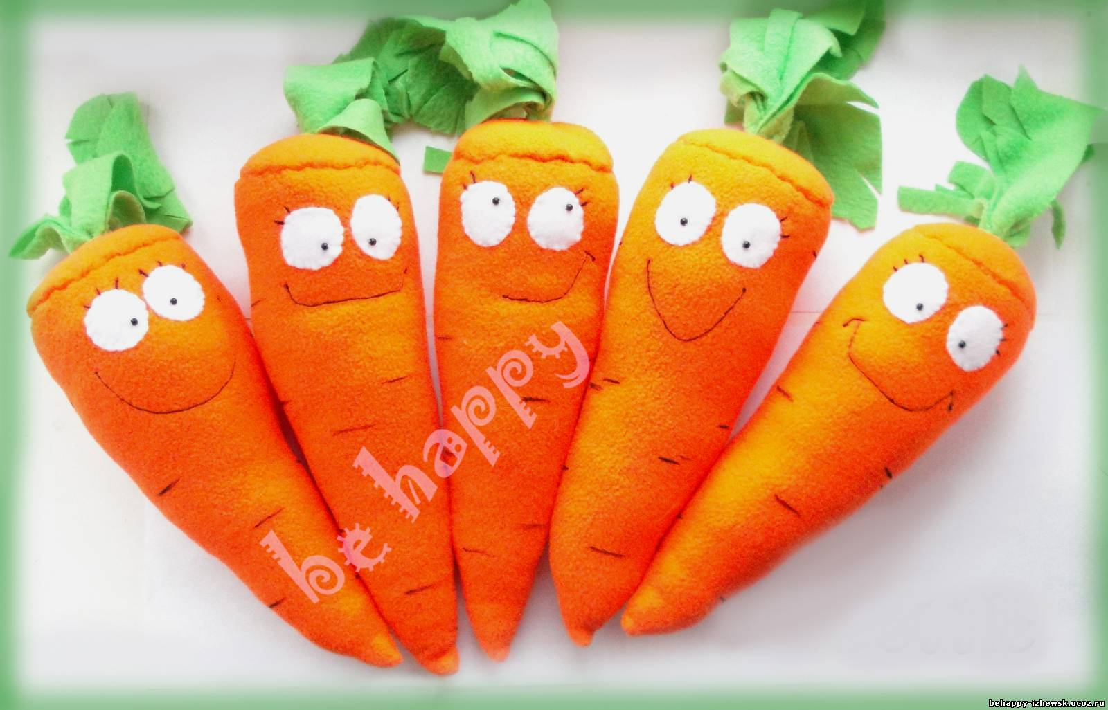 Как сделать ботву для морковки